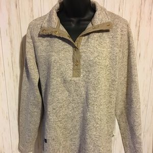 Simply Southern Cream Pullover Shirt L